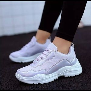 Shoes - Ice Purple sneakers